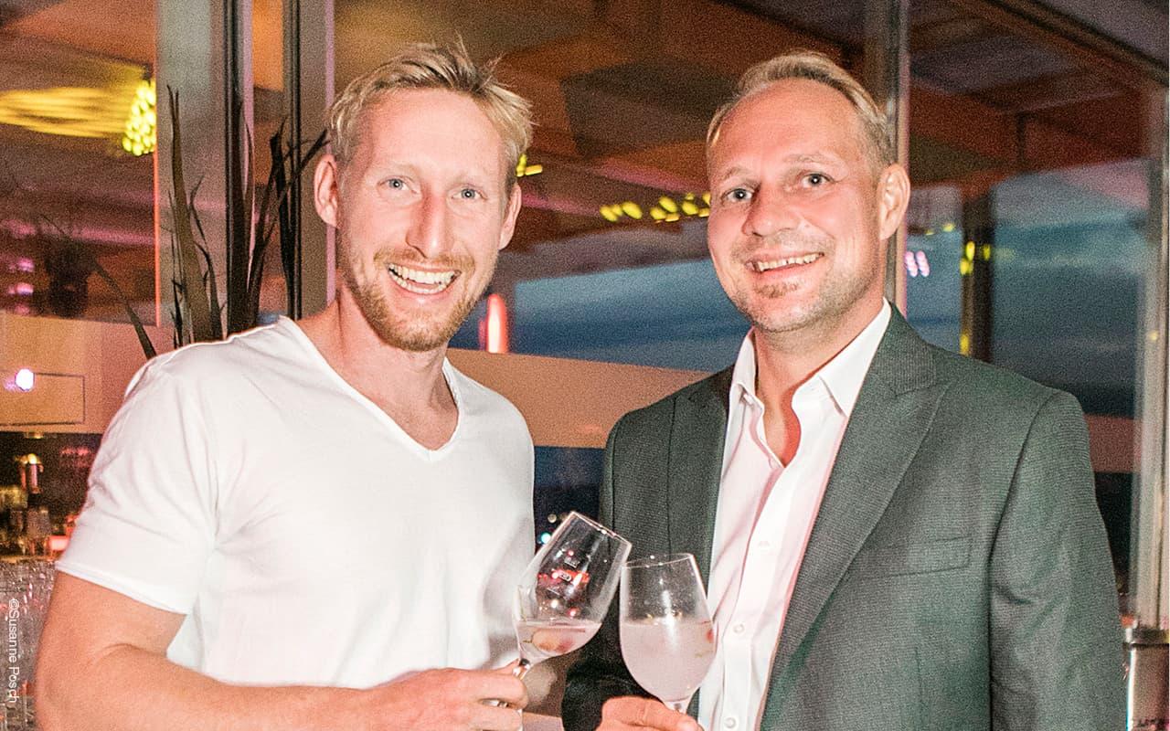 Georg Pilz mit Reinhard Jagerhofer